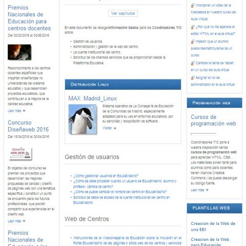 Ref. 16283 Recursos TIC (sitio web). Información, herramientas y utilidades