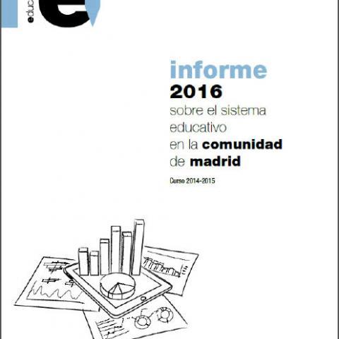 Ref. 16328 Informe 2016 sobre el sistema educativo en la Comunidad de Madrid. Curso 2014-2015 (ePub)