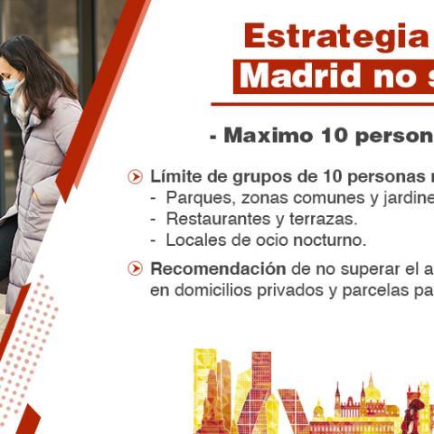 Estrategia Madrid no se para