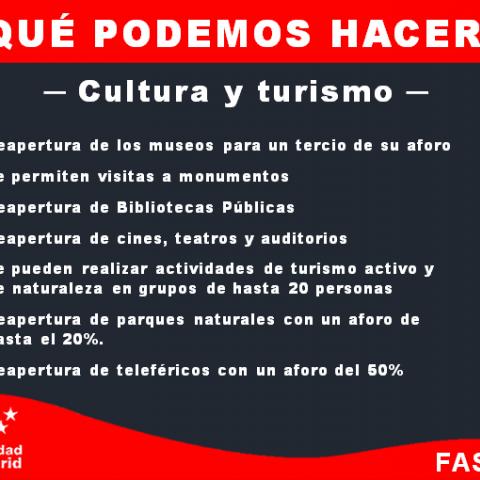 Que podemos hacer cultura y turismo