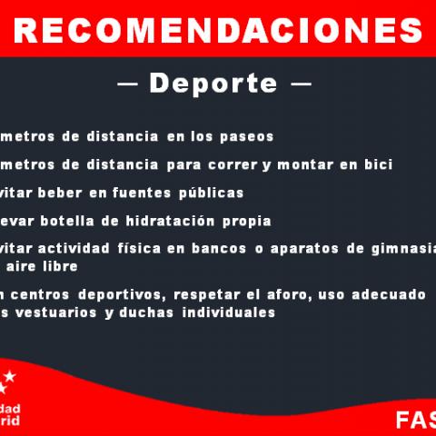 Recomendaciones - Deporte