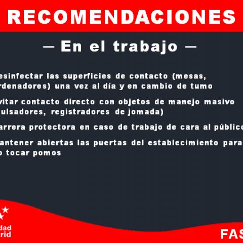 recomendaciones empleo