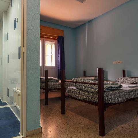 Habitación Albergue Juvenil Villa Castora