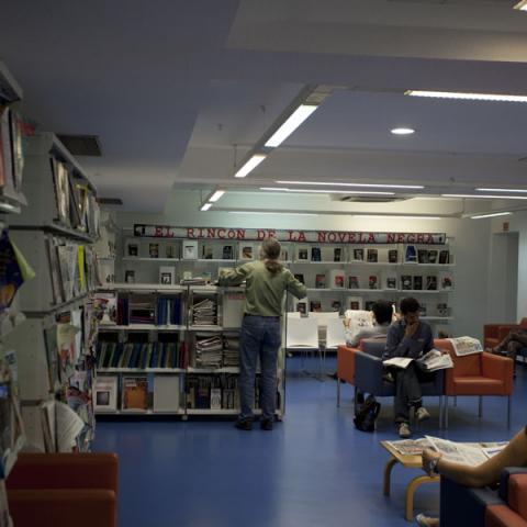 Biblioteca José Luis Sampedro (Chamberí)