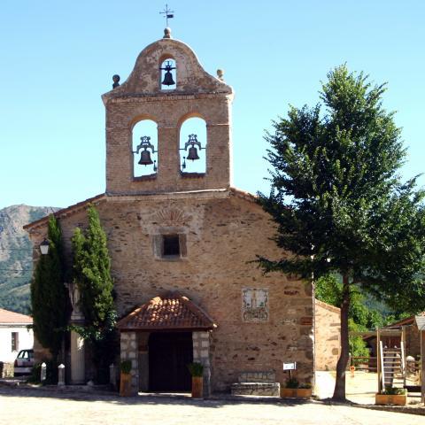La Hiruela. Iglesia