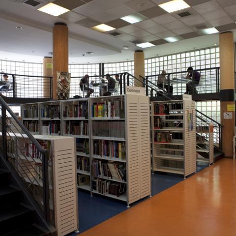 Biblioteca Elena Fortún (Retiro)