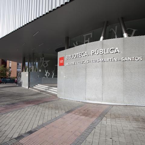 Biblioteca Luis Martín Santos (Villa de Vallecas)