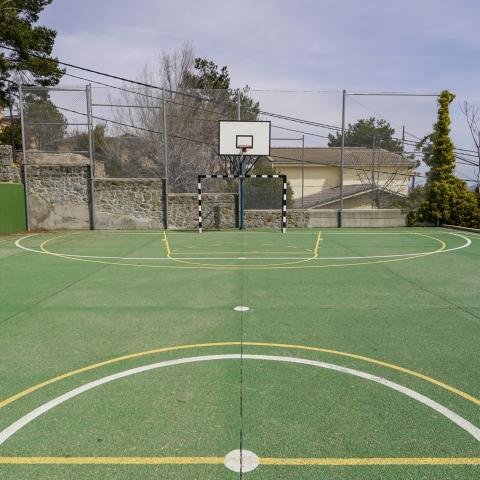 Pista deportiva Albergue Juvenil El Escorial