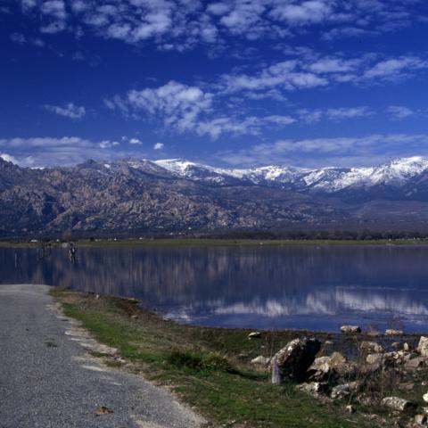 Parque Regional de la cuenca alta del Manzanares.Embalse de Santillana