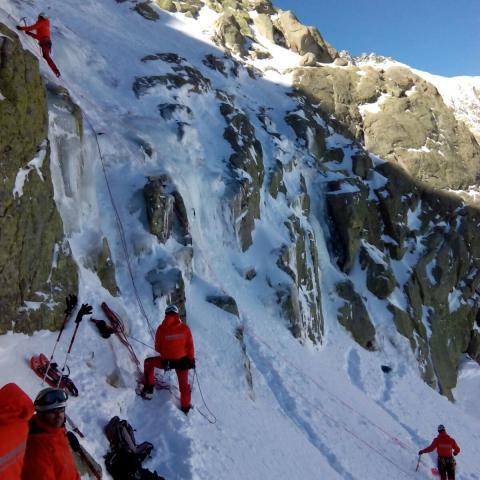 gera escalada nieve