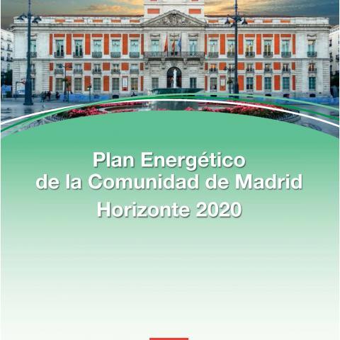 Cubierta Plan Energético de la Comunidad de Madrid: Horizonte 2020