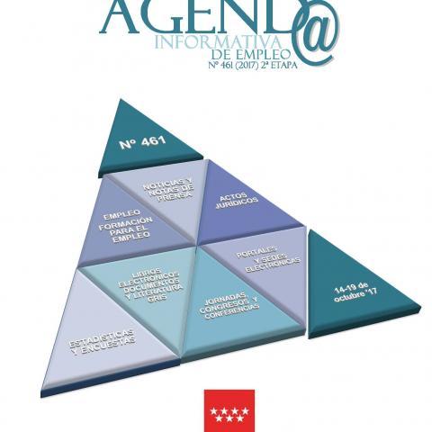 Cubierta Agenda informativa de Empleo (publicación periódica)