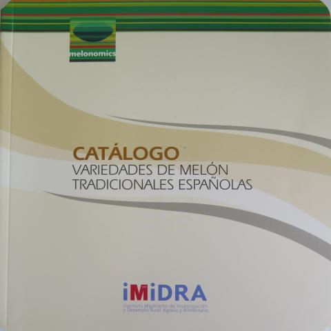 portada de la publicación catálogo del melón