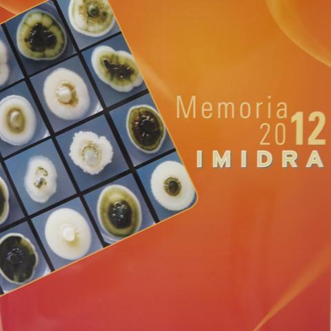 Portada de la Memoria del IMIDRA 2012