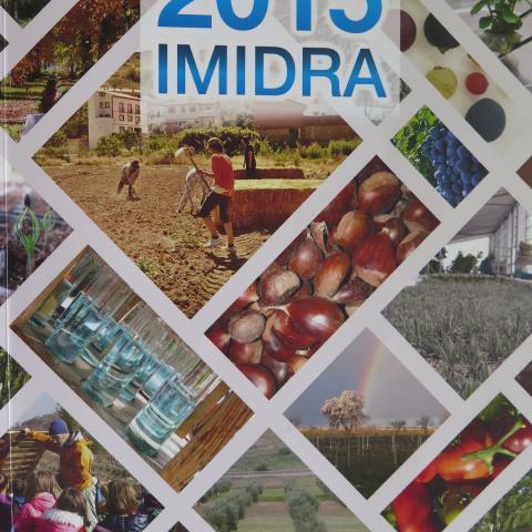 Portada de la Memoria IMIDRA 2015