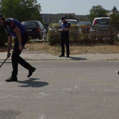 Prácticas de policías locales de intervención en siniestros viales.