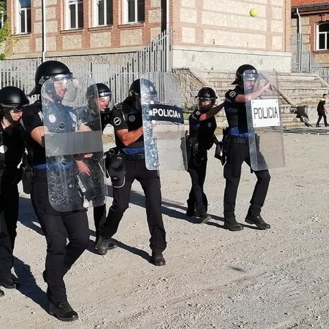 Policías locales en prácticas de intervención en el IFISE