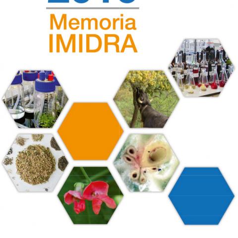 Portada de la publicación Memoria IMIDRA 2016