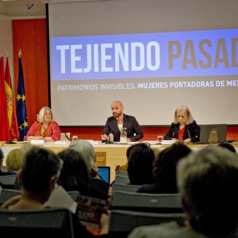 Presentación de las jornadas Tejiendo Pasado 2019 por D. Jaime Miguel de los Santos González
