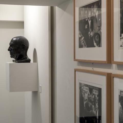 Vista del interior del Museo Picasso - Colección Eugenio Arias