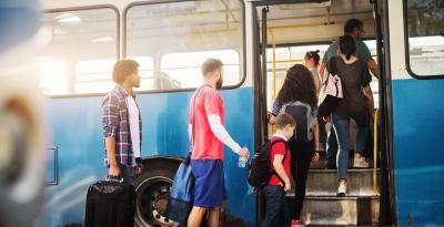 imagen de autobus