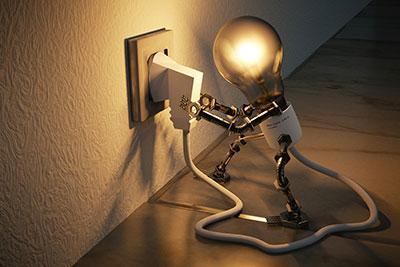 Enchufe luz