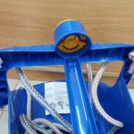 Columpio azul