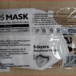 Mascarilla de protección KN95/FFP2 Purvigor