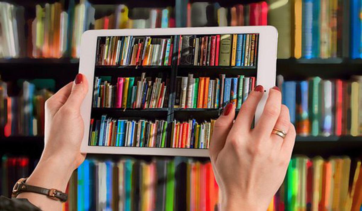 Tablet en biblioteca