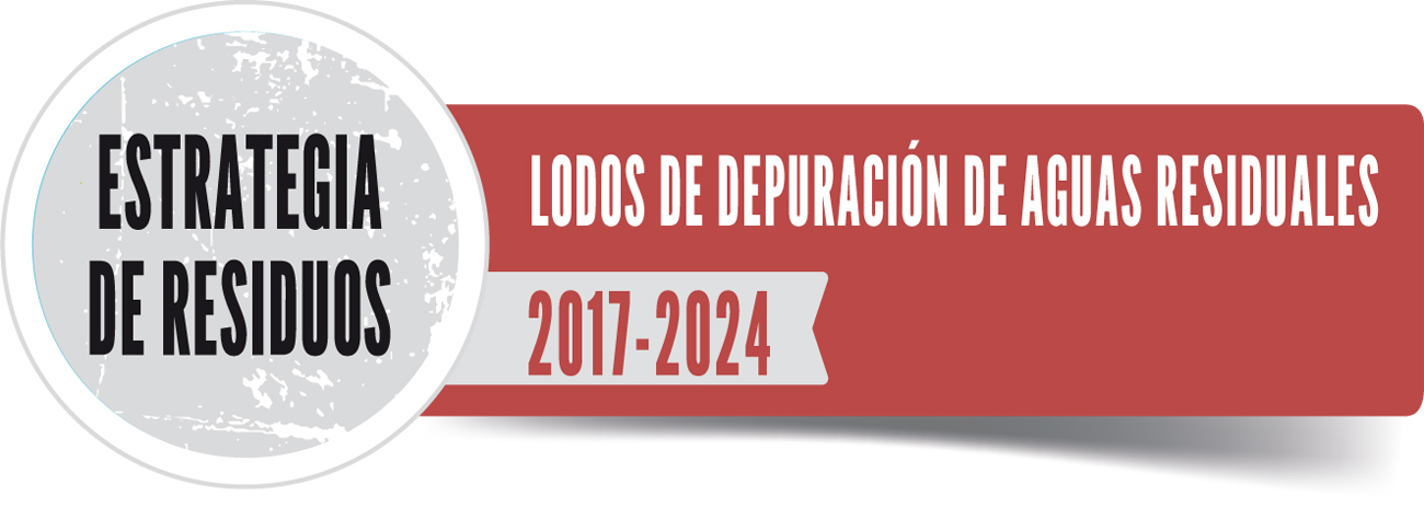 Logo del Plan de Gestión de Lodos de Depuración de Aguas Residuales (2017-2024)