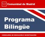 Logo del Programa Bilingüe de la Comunidad de Madrid