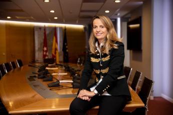 Fotografía de Ana Lorenzo Morales, Directora General de Transparencia de la Comunidad de Madrid